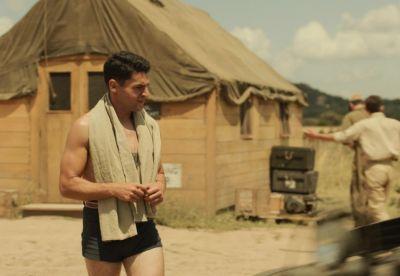christopher abbott shirtless hot catch-22