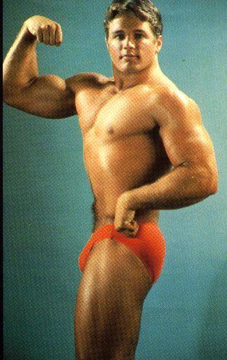 classic speedo bodybuilder posing