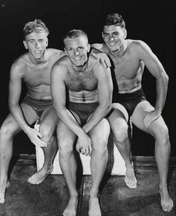 classic speedo briefs - australian swimmers 1956 melbourne olympics