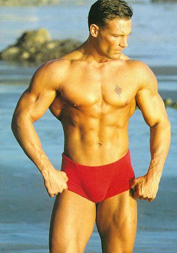 classic speedo trunks - muscle body builder