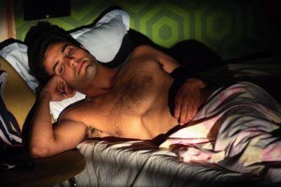 daniel lundh shirtless body