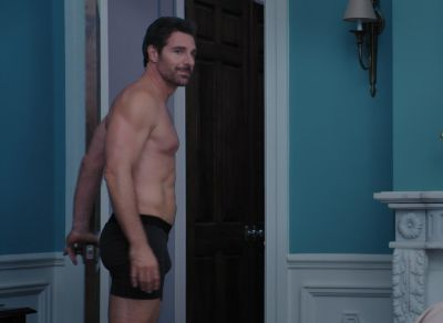 ed quinn president hunter franklin underwear
