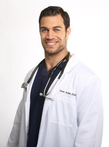 evan antin hot male doctor uniform