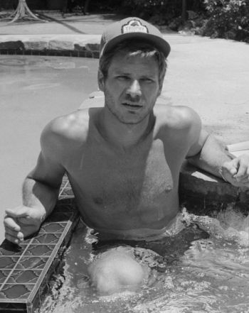 harrison ford young shirtless body