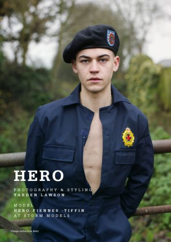 hero fiennes tiffin uniform for client magazine uk