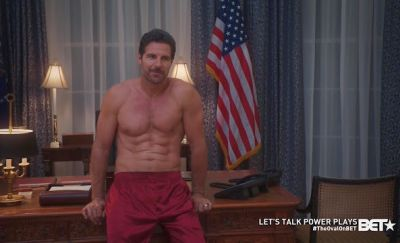 hot celebrity daddy ed quinn in pajamas
