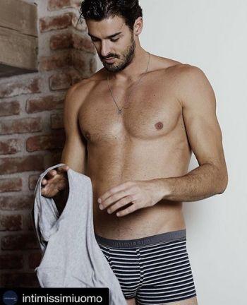 hot italian male underwear model