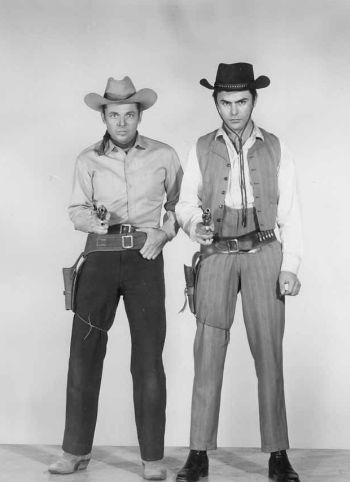 john saxon 1950s vintage hunk in posse from hell