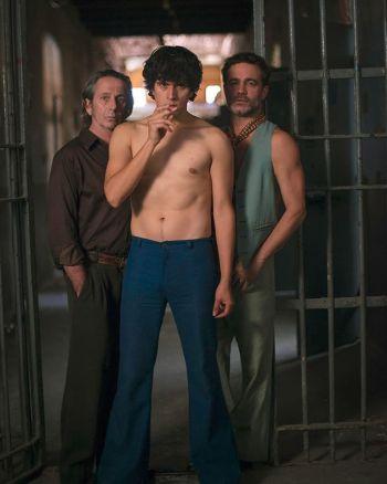 juan carlos maldonado shirtless with Gastón Pauls and Alfredo Castro