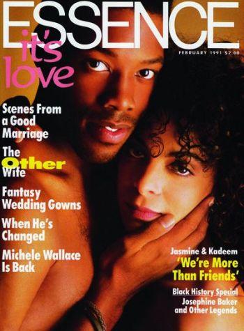 kadeem hardison shirtless body - essence magazine cover with jasmine guy
