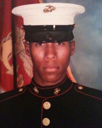 lodric d collins us marine uniform