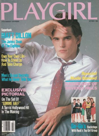 matt dillon gay playgirl