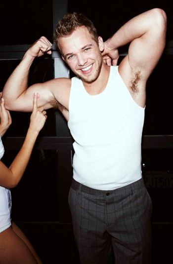 max thieriot hot in tank top