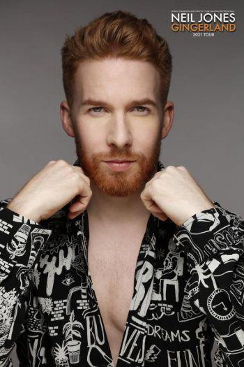 neil jones hot male ginger