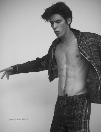 pico alexander shirtless body - louis vuitton pajamas - visual tales