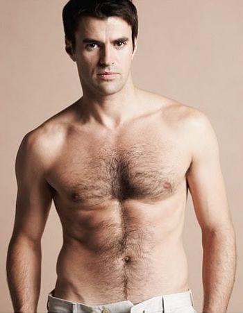 steve jones shirtless chest hair