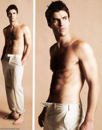 steve jones welsh tv presenter shirtless