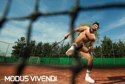 tennis players underwear model - modus vivendi