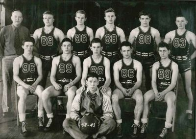vintage basketball shorts 1930s