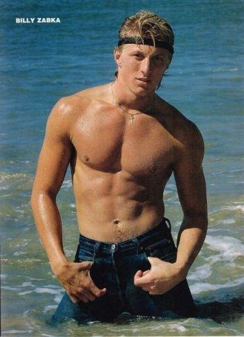 william zabka shirtless in jeans