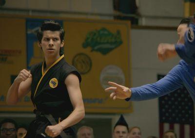 xolo mariduena kobra kai karate stance
