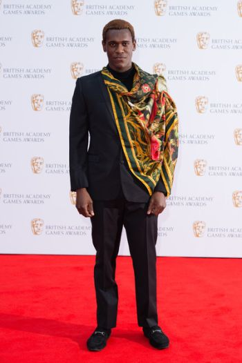 Abubakar Salim red carpet British Academy Games Awards 2019