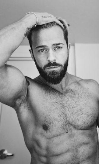 Artem Chigvintsev chest hair hot body