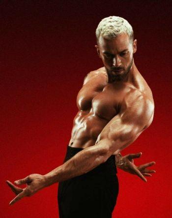 Artem Chigvintsev hot male dancer