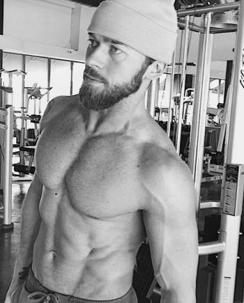 Artem Chigvintsev shirtless body