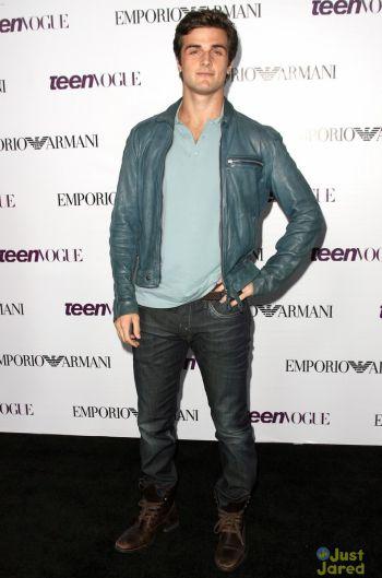 Beau Mirchoff leather jacket