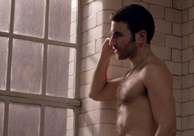 Brett Goldstein chest hair in undercover