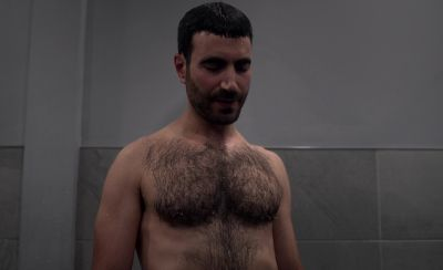 Brett Goldstein shirtless in ted lasso