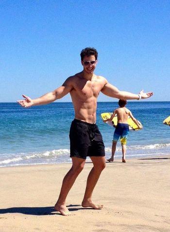 Dr Mike Varshavski shirtless body