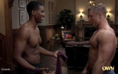 Gavin Houston gay with brock yurich in have and have nots