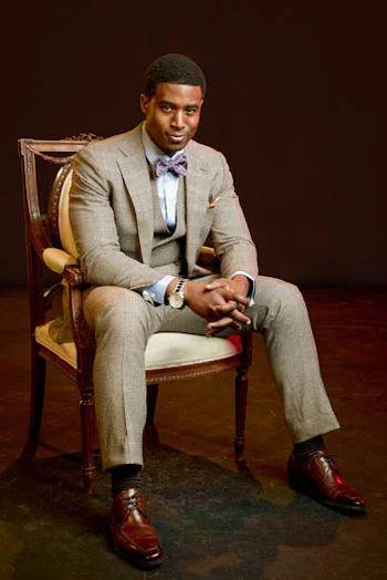 Gavin Houston hot in suit