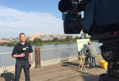 Jeff Ranieri nbc bay area chief meteorologist - field report2