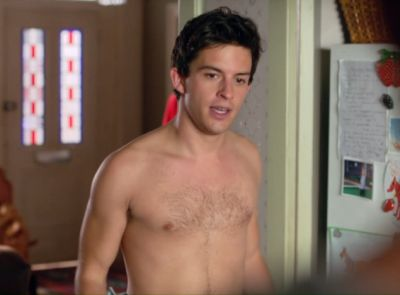 Jonathan Bailey shirtless