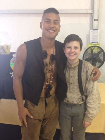 Martin Sensmeier magnificent 7 costar dodge prince