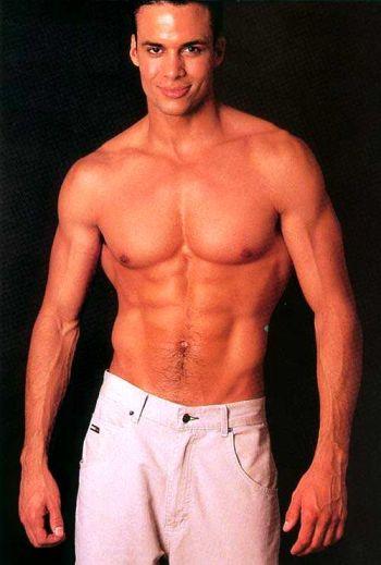 Matt Cedeño shirtless young