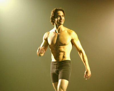 Matt Cedeño underwear model runway 2002