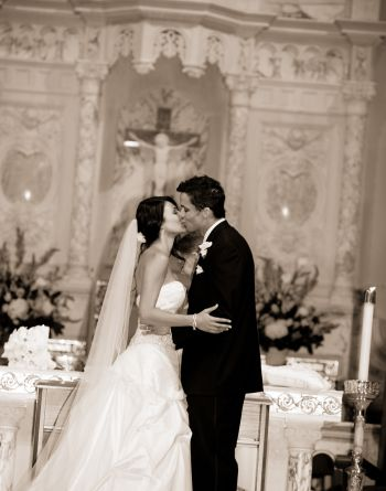 Matt Cedeño wedding wife erica