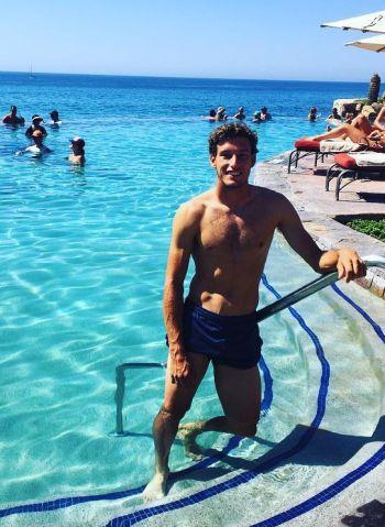 Pablo Carreño Busta shirtless body