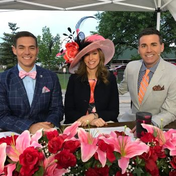 Sterling Riggs WDRB field coverage of kentucky derby