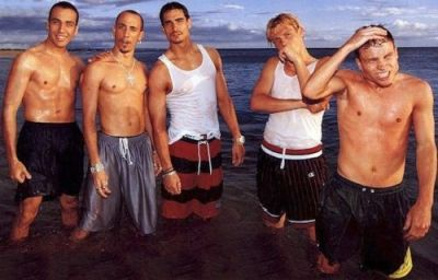 aj mclean shirtless young - with backstreet boys2