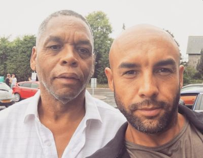 alex beresford ethnicity - biracial - father noel