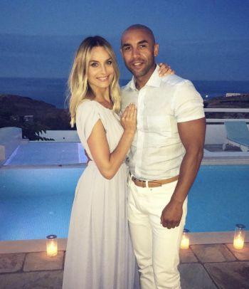 alex beresford wife natalia - ex