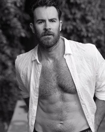 ben lawson shirtless chest hair