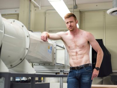 bryce eilenberg shirtless hot redhead