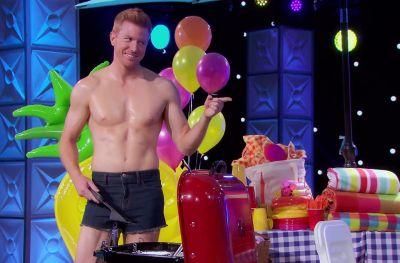 bryce eilenberg shirtless in shorts