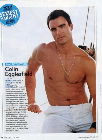 colin egglesfield shirtless body